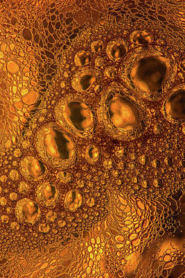 Photograph - Old Gold Liquid by Bruce Pritchett