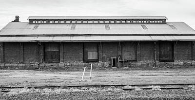 Photograph - Old Goods Shed by Jocelyn Kahawai