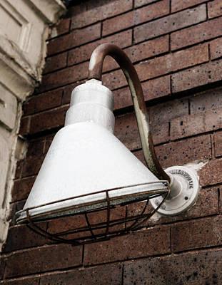 Photograph - Old Gooseneck Light by Marilyn Hunt