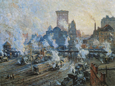 Photograph - Old Grand Central Station by Colin Campbell Cooper