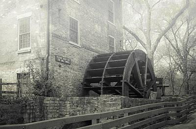 Old Graue Mill Print by Julie Palencia