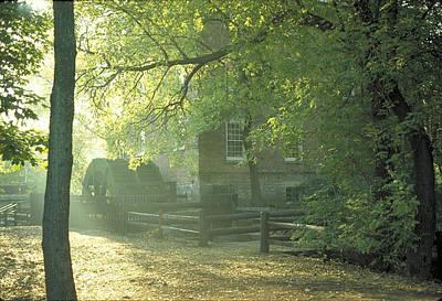Old Graue Mill  Print by Steve Lappe