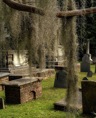 Photograph - Old Graveyard by Darylann Leonard Photography