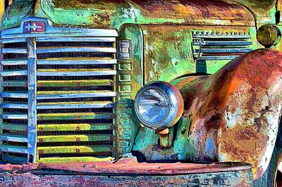 Photograph - Old Greenie  by Jacqui Binford-Bell