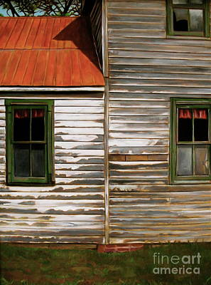 Curtis E. James Painting - Old Greentown by Curtis James