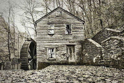 Photograph - Old Grist Mill by Sharon Popek