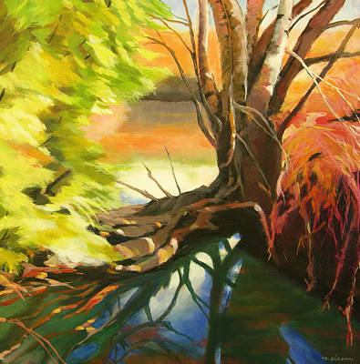 Painting - Old Growth At Fanno Creek by Melody Cleary