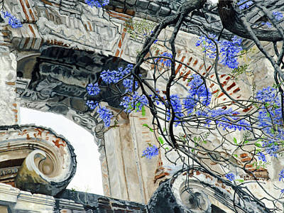 Old Growth Wisteria Art Print