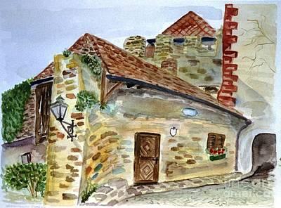 Old Guard House  Art Print