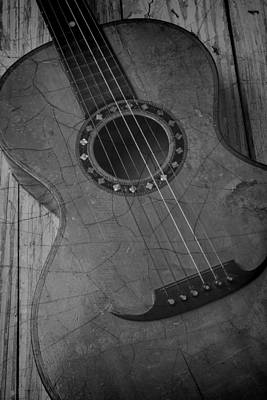 Autistic Photograph - Old Guitar by Garry Gay