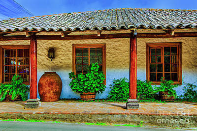 Photograph - Old Hacienda by Rick Bragan