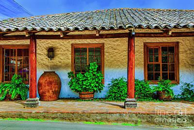 Photograph - Old Hacienda by Rick Bragan