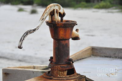 Photograph - Old Hand Pump by John Black