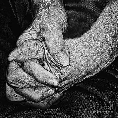 Photograph - Old Hands by Tom Griffithe