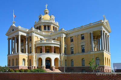 Photograph - Old Harrison County Courthouse by Catherine Sherman