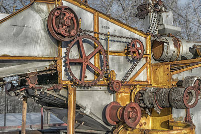 Photograph - Old Harvester by Martin Capek