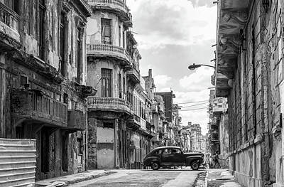 Photograph - Old Havana by Eva Blue