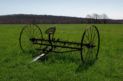 Photograph - Old Hay Rake by David Gordon
