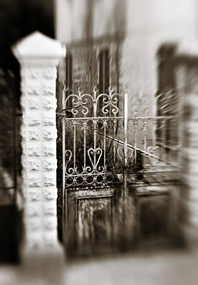 Heart Work Photograph - Old Heart Gate by Marilyn Hunt