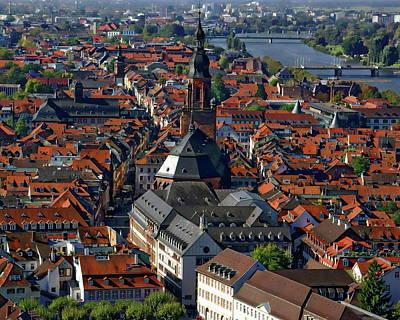 Photograph - Old Heidelberg by Anthony Dezenzio