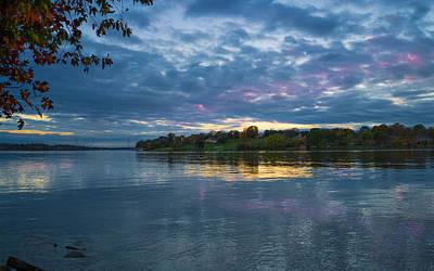 Photograph - Old Hickory Lake Sunset by Paula Ponath