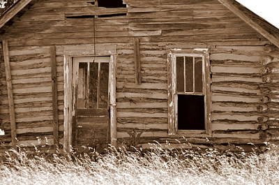 Old Home In The Ozarks Print by Marty Koch