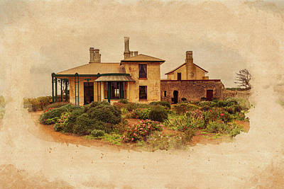 Photograph - Old Home by Keith Hawley