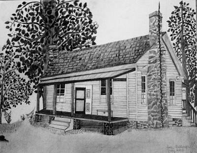 Old Home Place Drawing - Old Home Place by Dale Ballenger