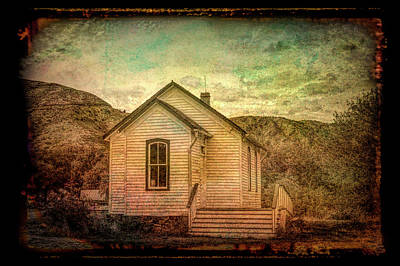 Photograph - Old Homestead by Ann Powell