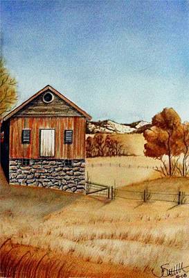 Old Homestead Art Print by Jimmy Smith