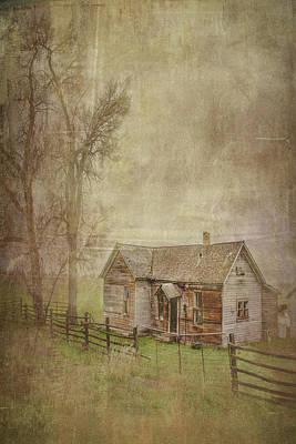 Moody Trees - Old Homestead by Ramona Murdock