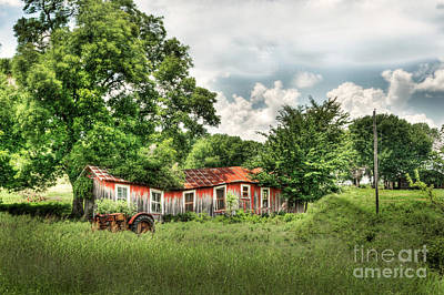 Photograph - Old Homestead by Tamyra Ayles