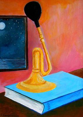Painting - The Old Horn  by Konstantinos Charalampopoulos