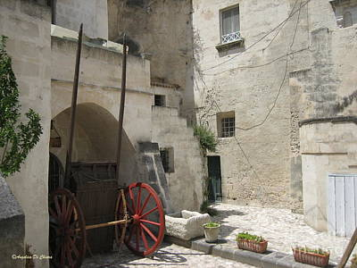 Photograph - Old Horsecart In Matera by Italian Art