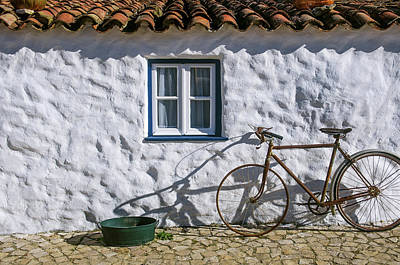 Photograph - Old House And Bicycle by Carlos Caetano