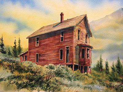Old House Animas Forks Colorado Art Print by Kevin Heaney