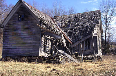 Photograph - Old House B by Curtis J Neeley Jr