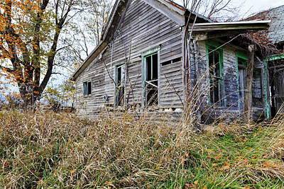 Photograph - Old House  by Ben Graham