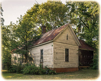 Photograph - Old House, Flippen Georgia by Lee Coursey