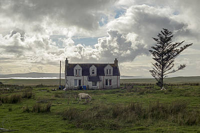 Photograph - Old House In Isle Of Skye, Uk by Dubi Roman
