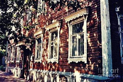Photograph - Old House In Moscow by Sarah Loft