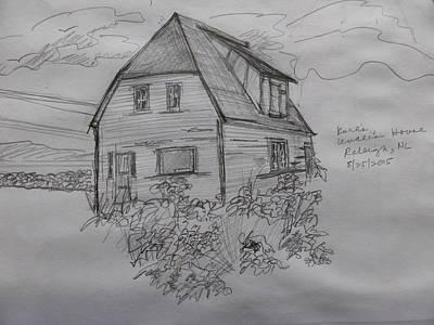 Old House In Raleigh Art Print by Joel Deutsch