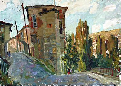 Painting - Old House In Veles by Juliya Zhukova