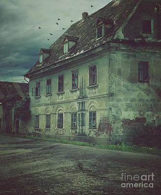Old House Art Print by Mythja Photography