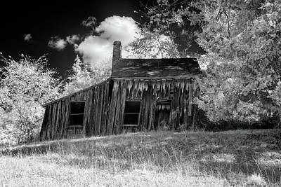 Photograph - Old House On A Hill by Paul Seymour