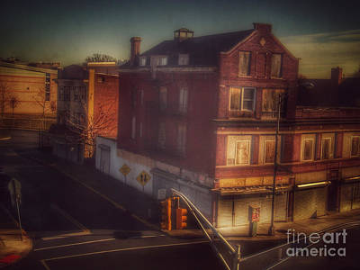 Photograph - Old House On The Corner by Miriam Danar