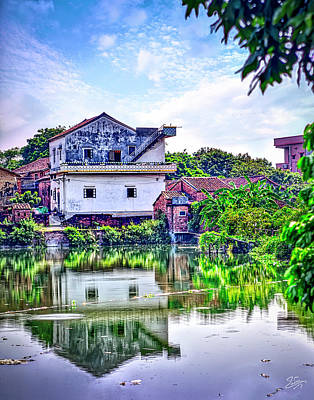Photograph - Old House On The Water by Endre Balogh