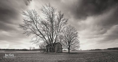 Photograph - Old House Panorama by Roman Wilshanetsky