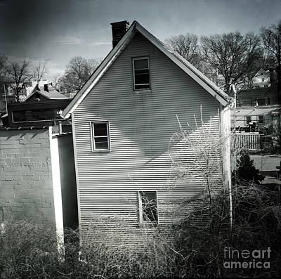 Photograph - Old House - Suburbia by Miriam Danar