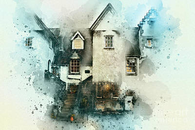 Old House Art Print by Svetlana Sewell
